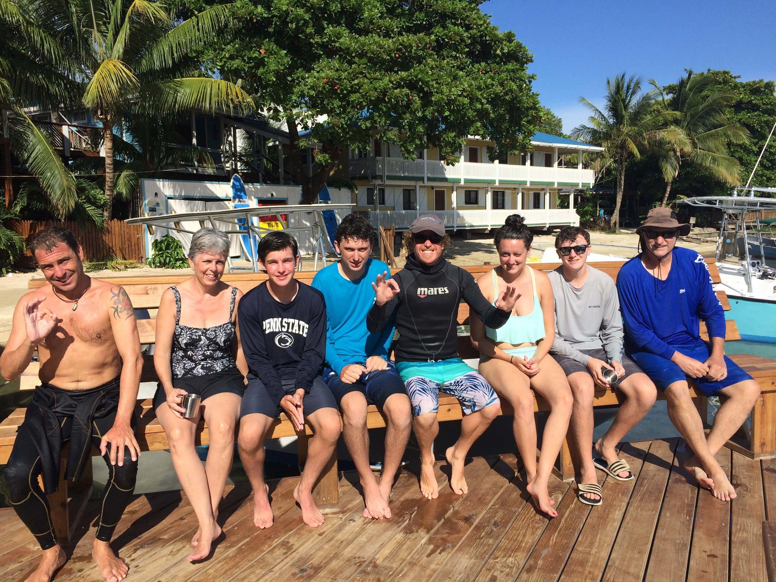 try diving caribbean roatan