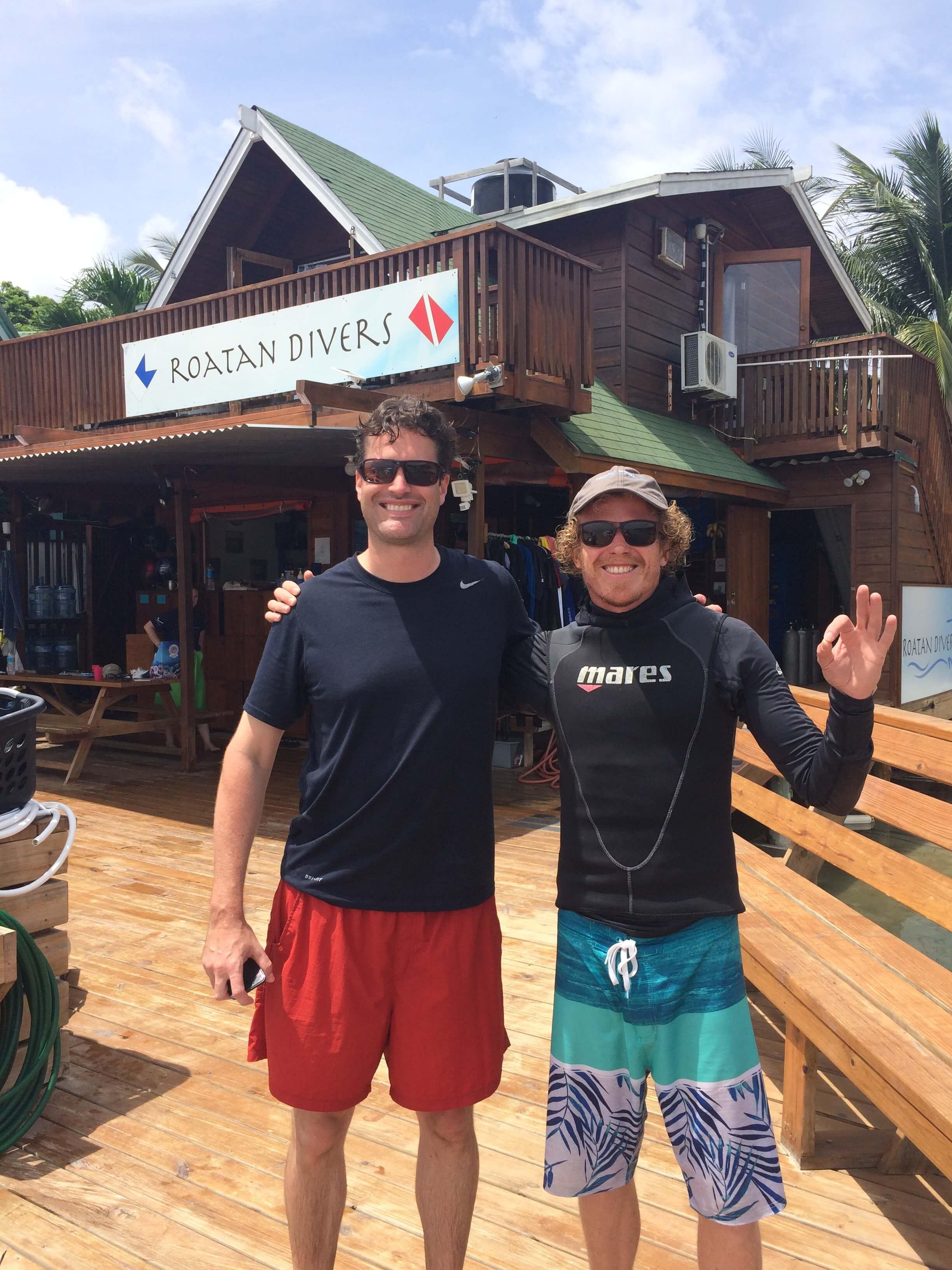 padi open water dive certification roatan