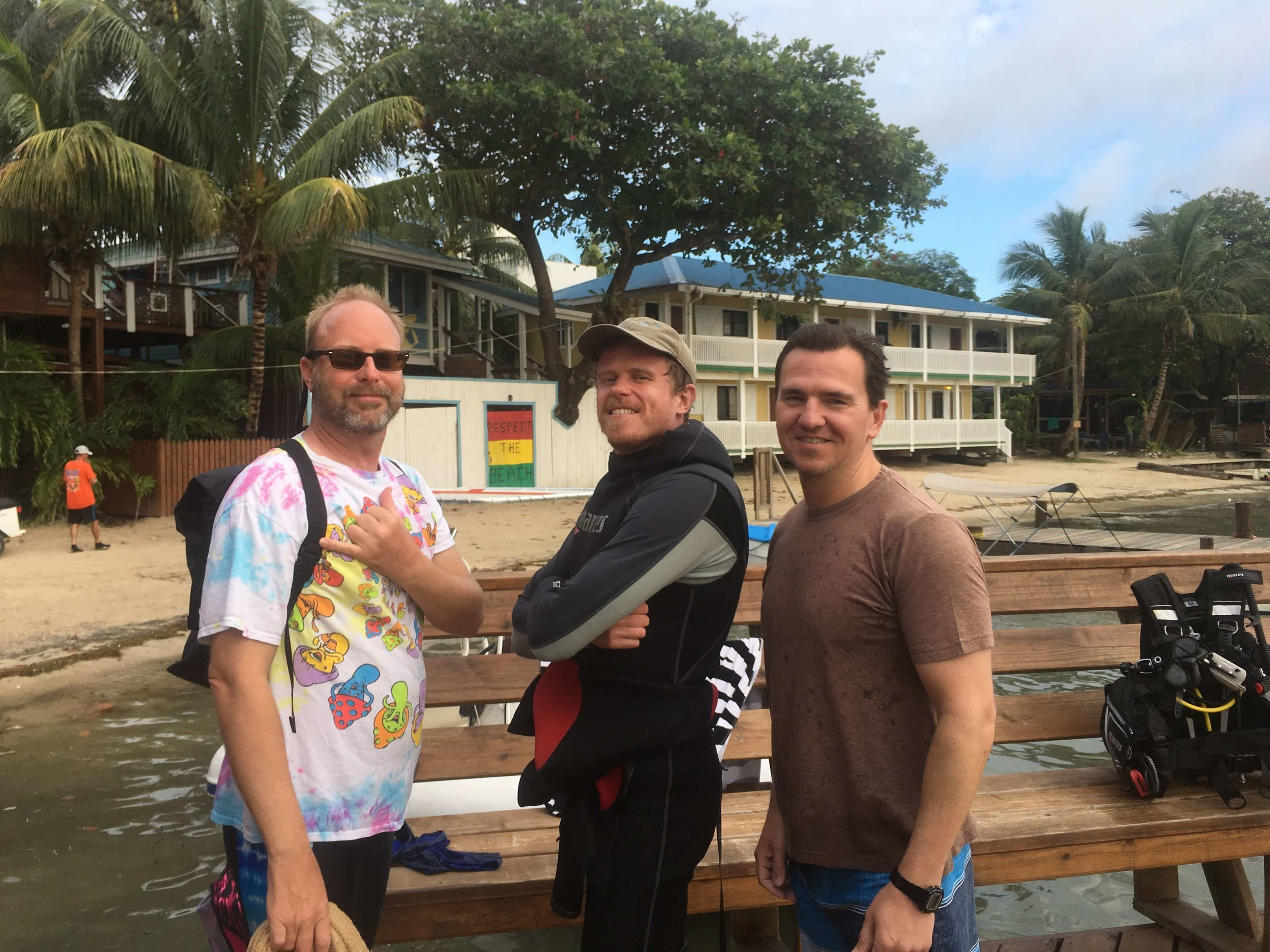 Curt and Bob became PADI Rescue Divers!