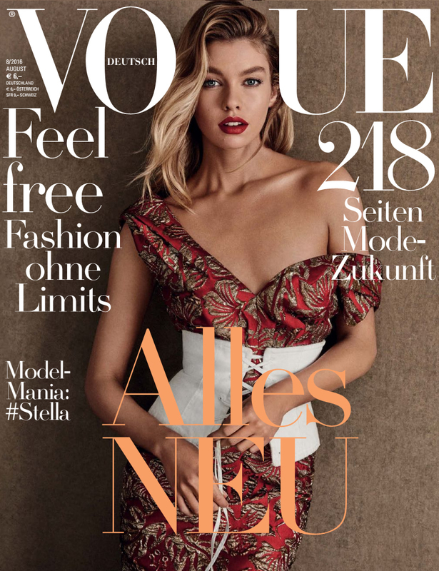 Toino Abel in Vogue Germany 2016 August