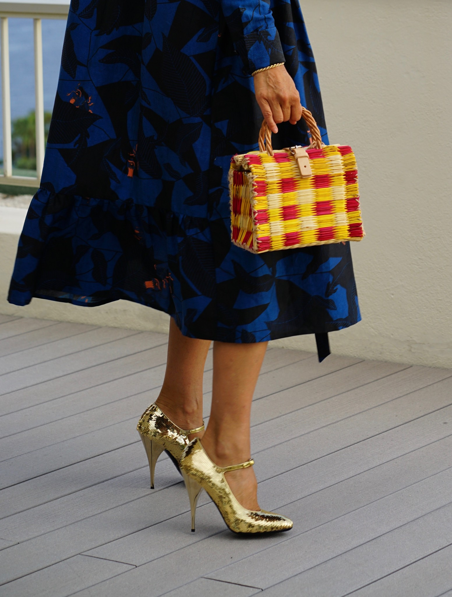 Dress by AnAnlondree, Bag by Toino Abel, Shoes by Miu Miu