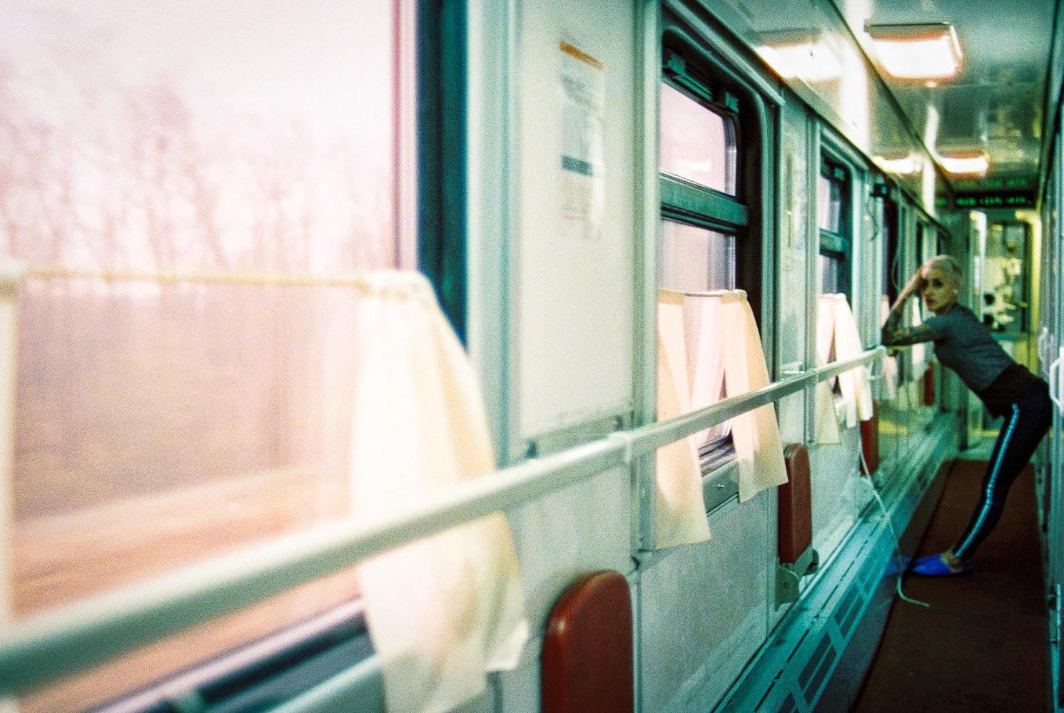 Leica MP + Cinestill film 800T