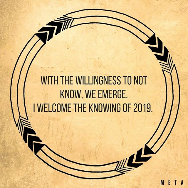 With the willingness to not know, we emerge.  I welcome the knowing of 2019.  A message from Her:  Whispering roars, Rise Rise Rise.  They no longer want to hear your silence. They are ready to listen. Ready to know the mystery road home. Ready to follow the untold story. The tales that remember all of your tomorrow's. They have come to dance. We are here to Rise. It is the time. Our time. Rise Rise Rise... #riseriserise #2019 #surrender #willingness #ourtime #happynewyear #listentoher