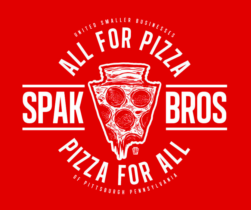This is the shirt Common Wealth press designed to aid Spak Brothers. All proceeds go to Spak,  you can buy the shirt here .