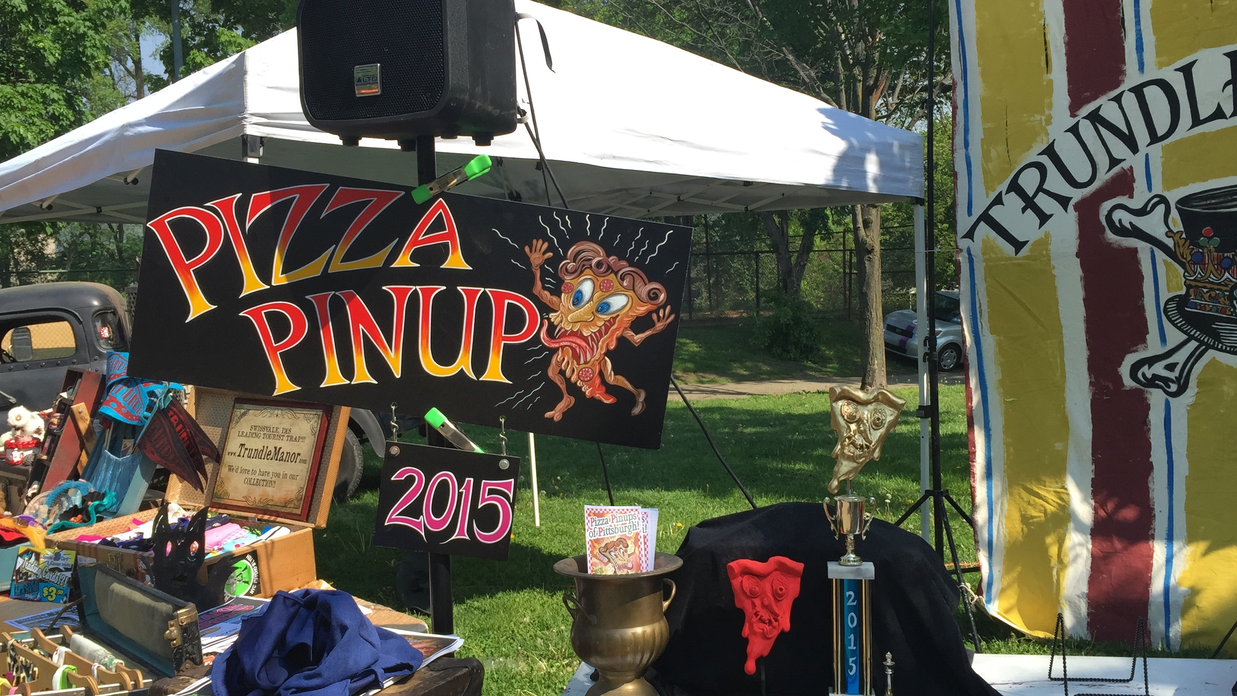 Pizza Pinup Contest