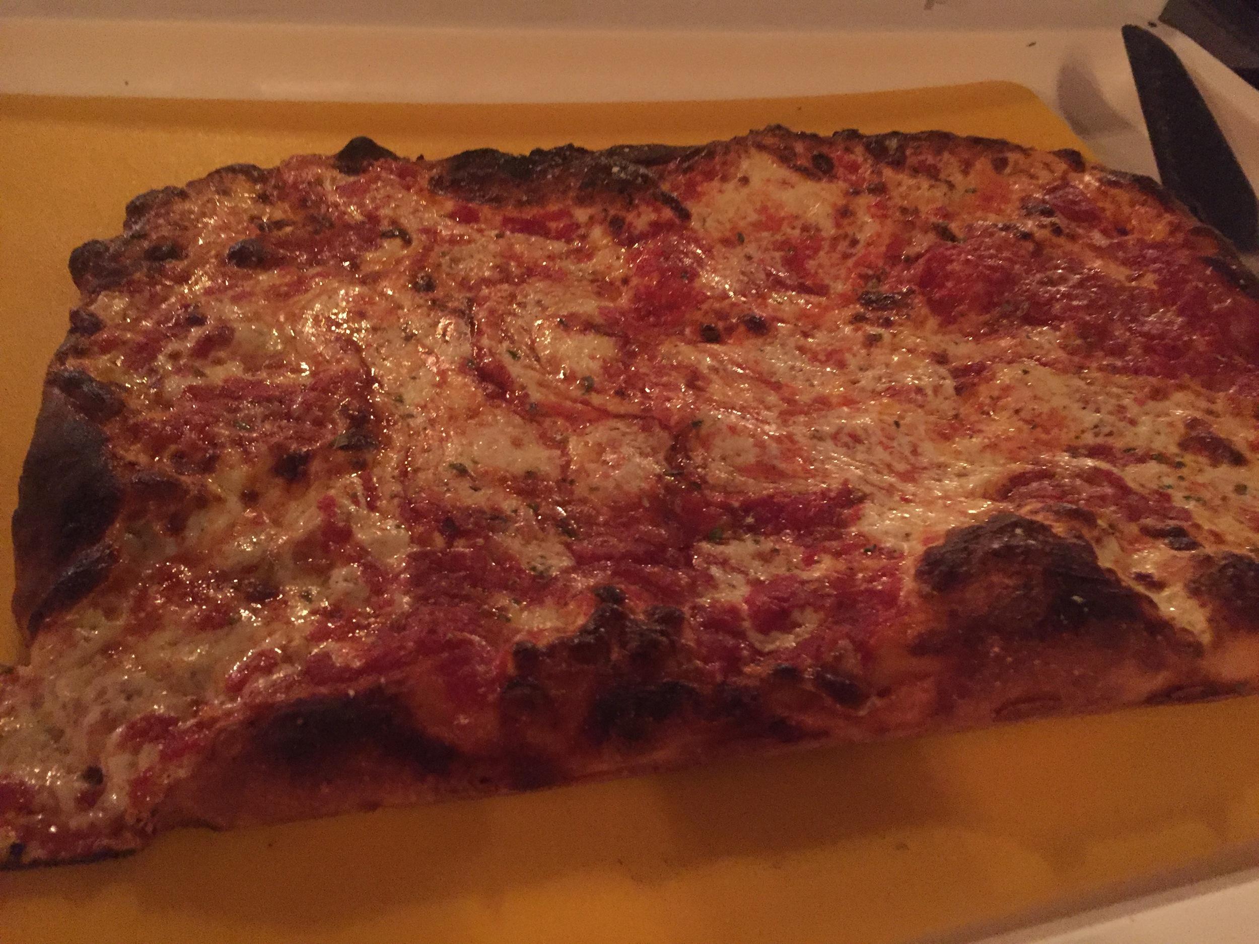 Pizza Taglio Sicilian Pizza