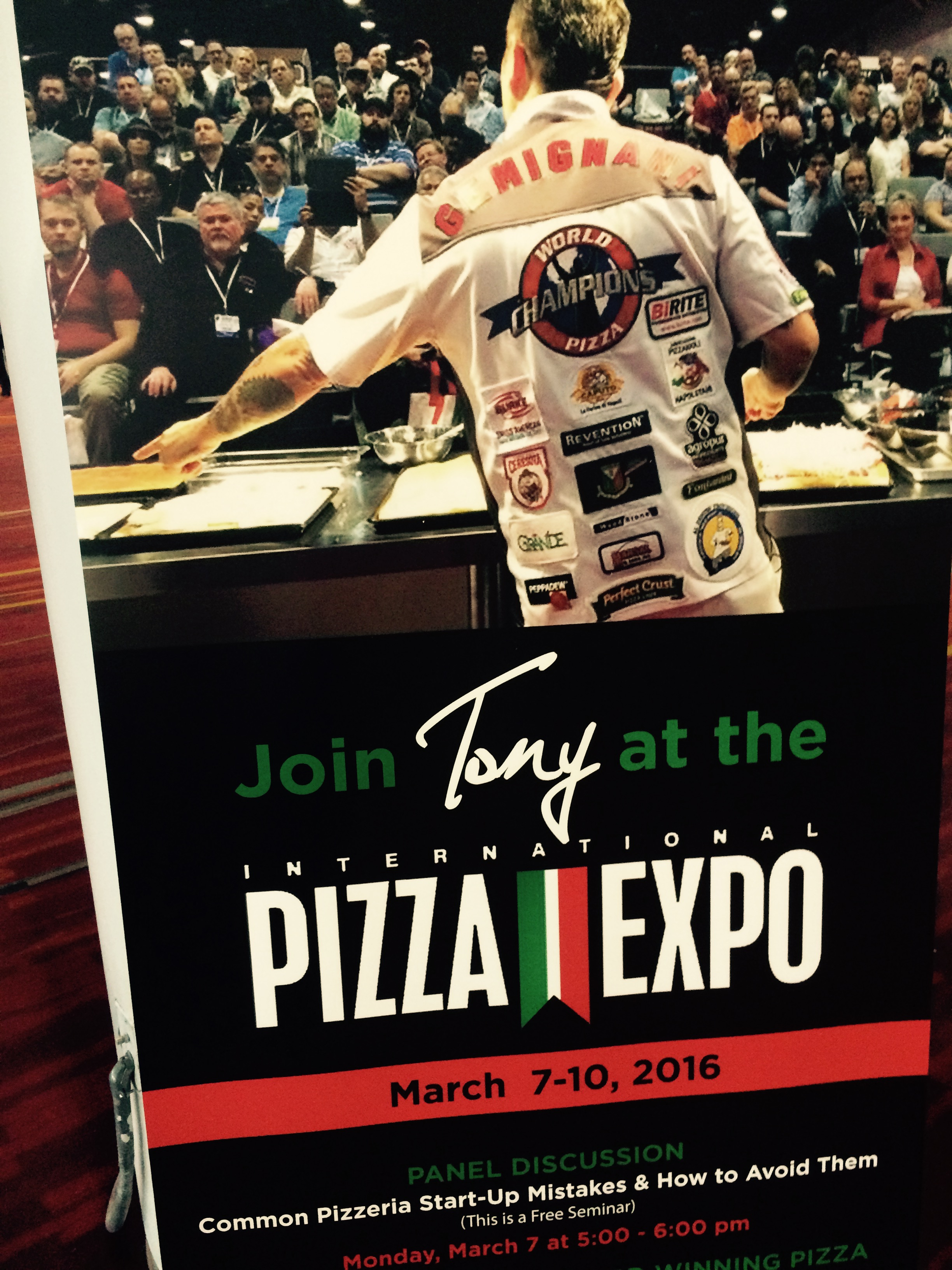 pizza expo flyer