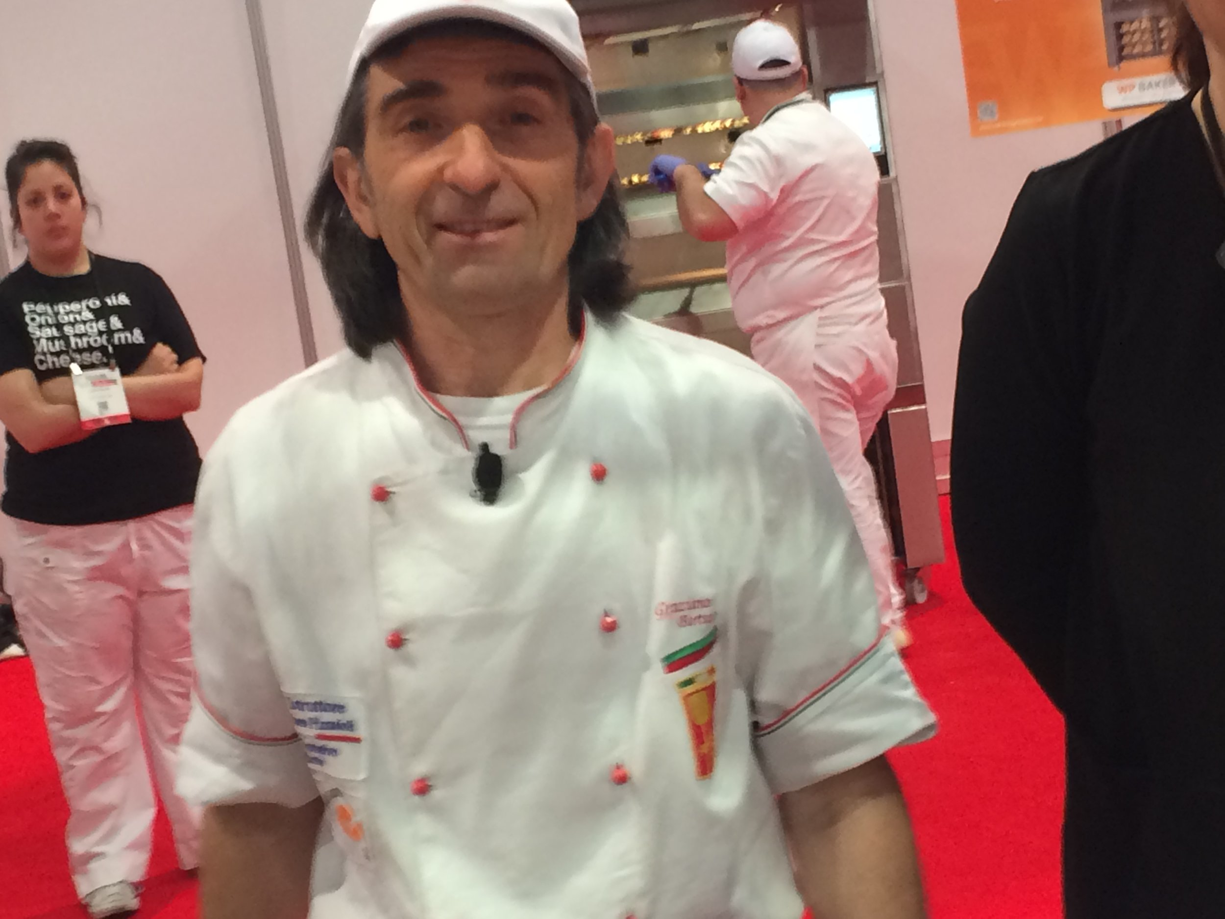 Graziano Bertuzza is a legend of pizza making