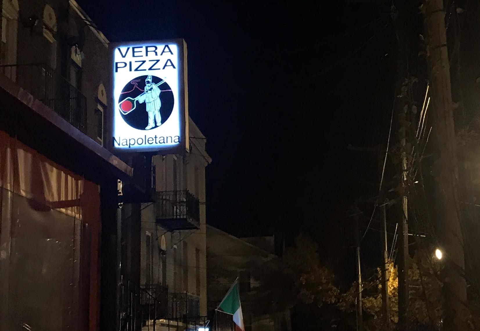 Vera Pizza Sign