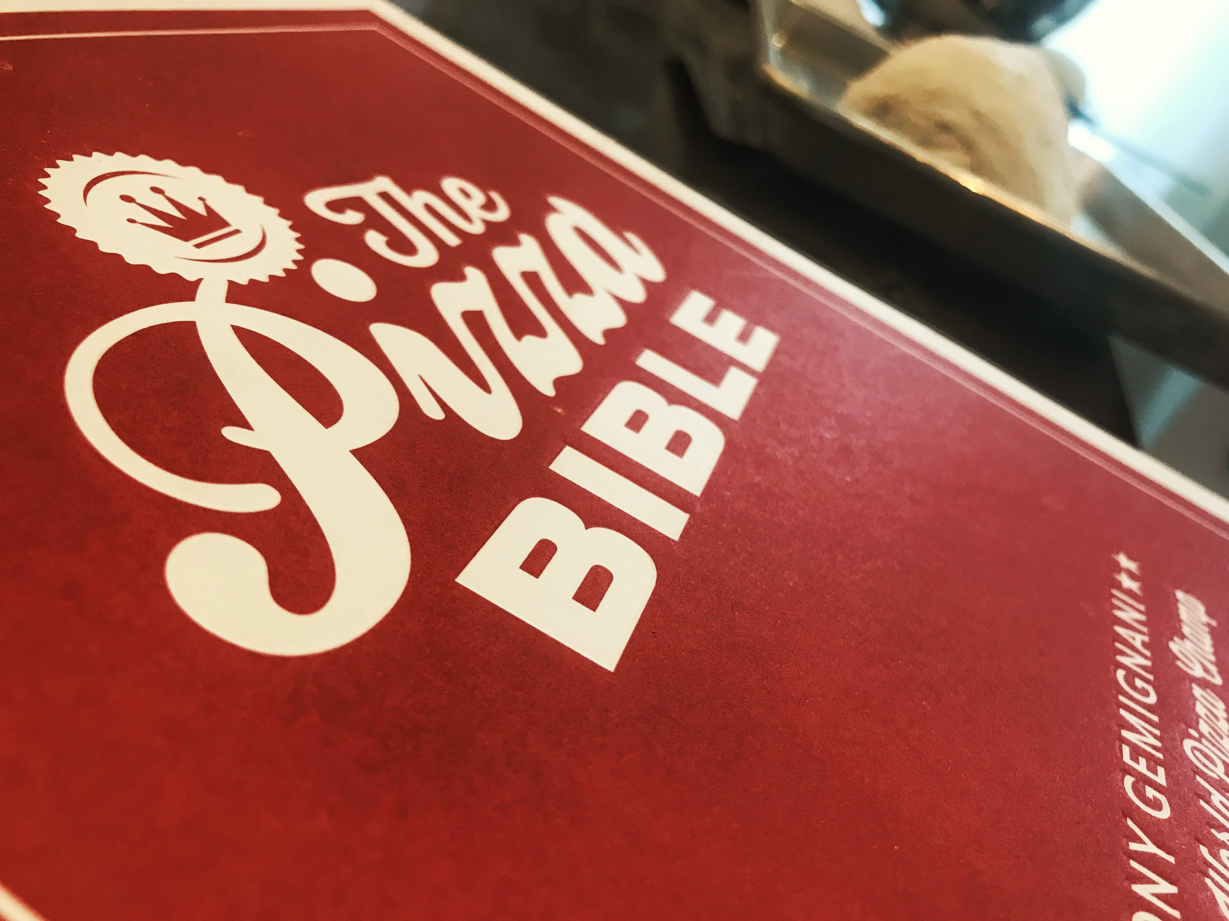 Pizza Bible Cover