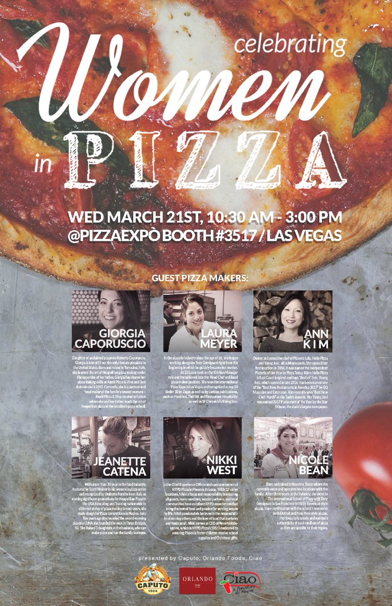 Women of Pizza at Pizza Expo