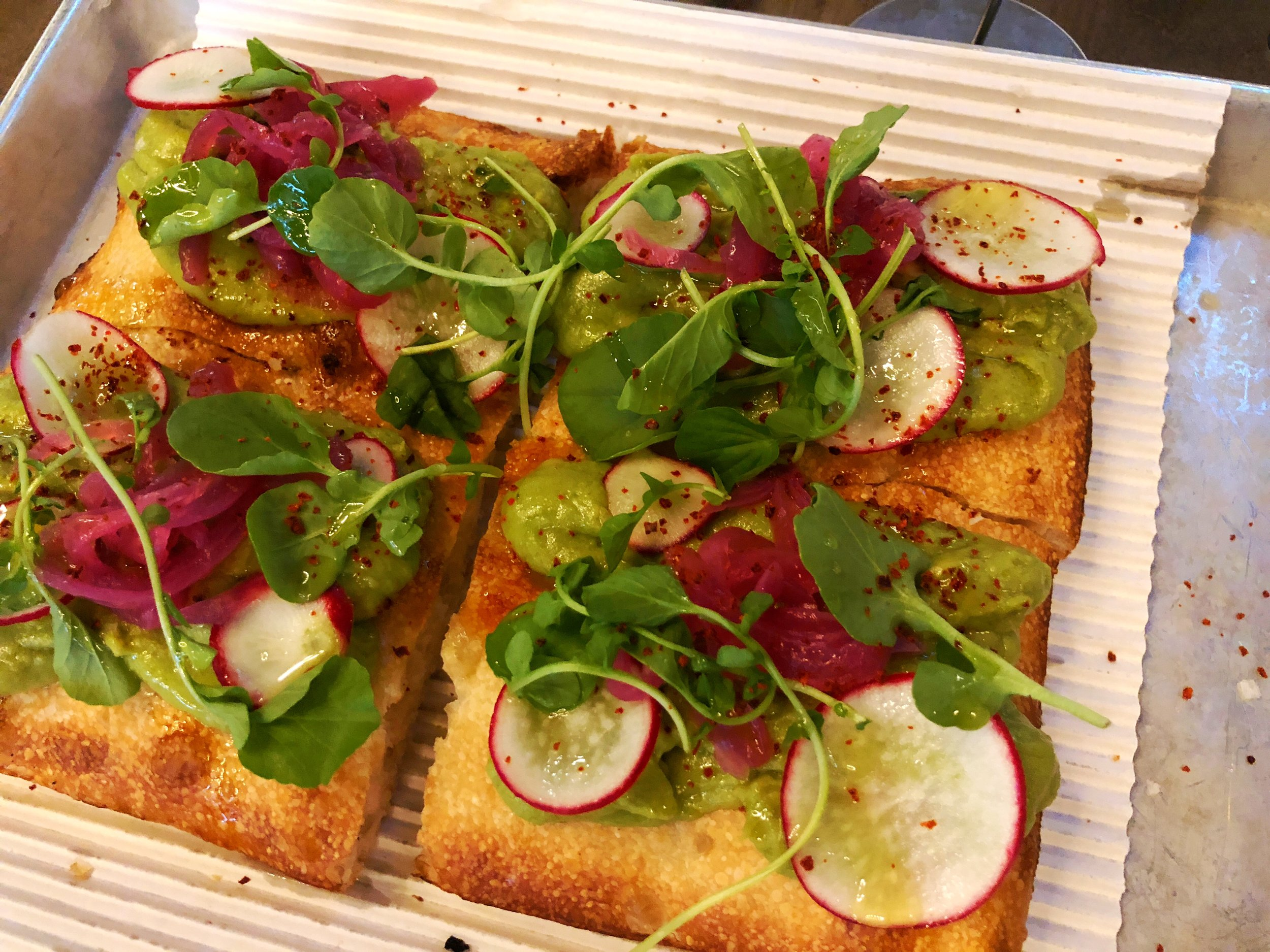 A whole tray of the fabled, hard to find, Tallarico Toast by Michigan & Trumbull
