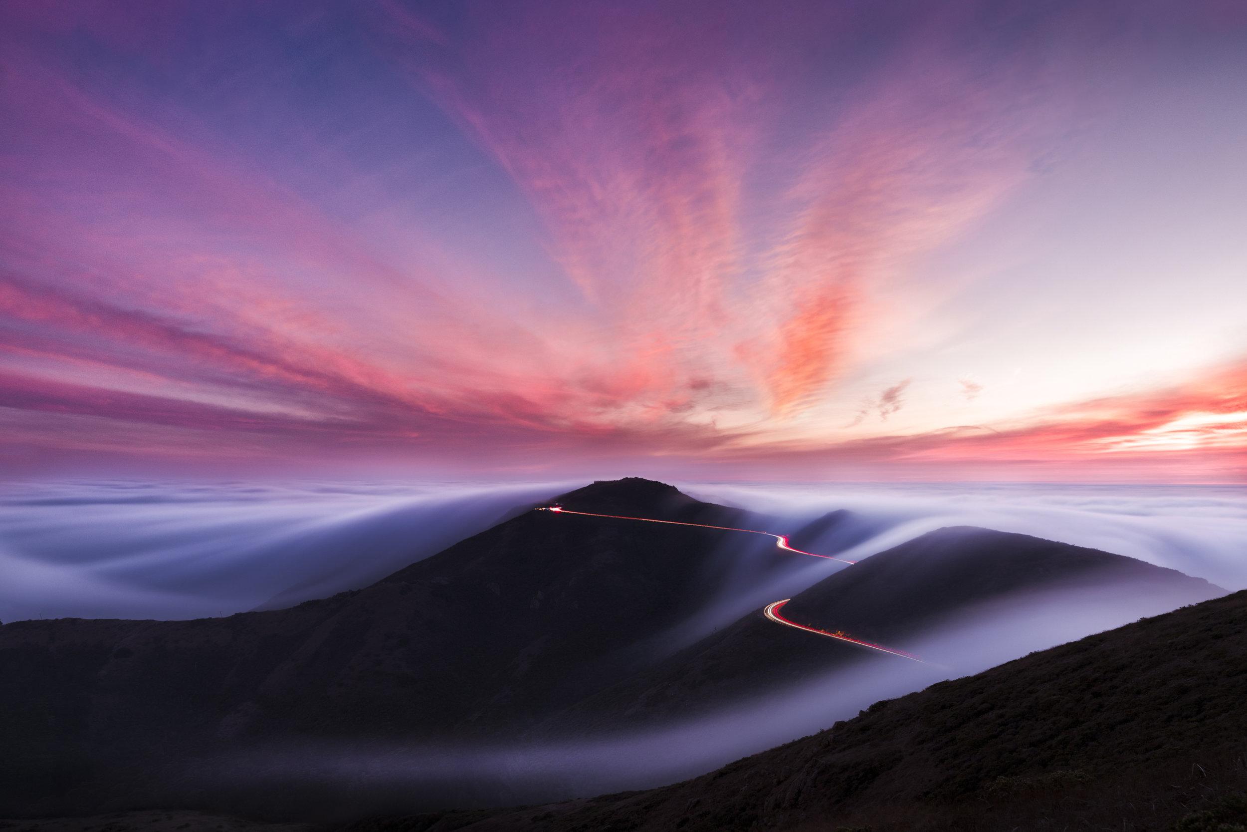 Slacker Hill, Marin Headlands, California