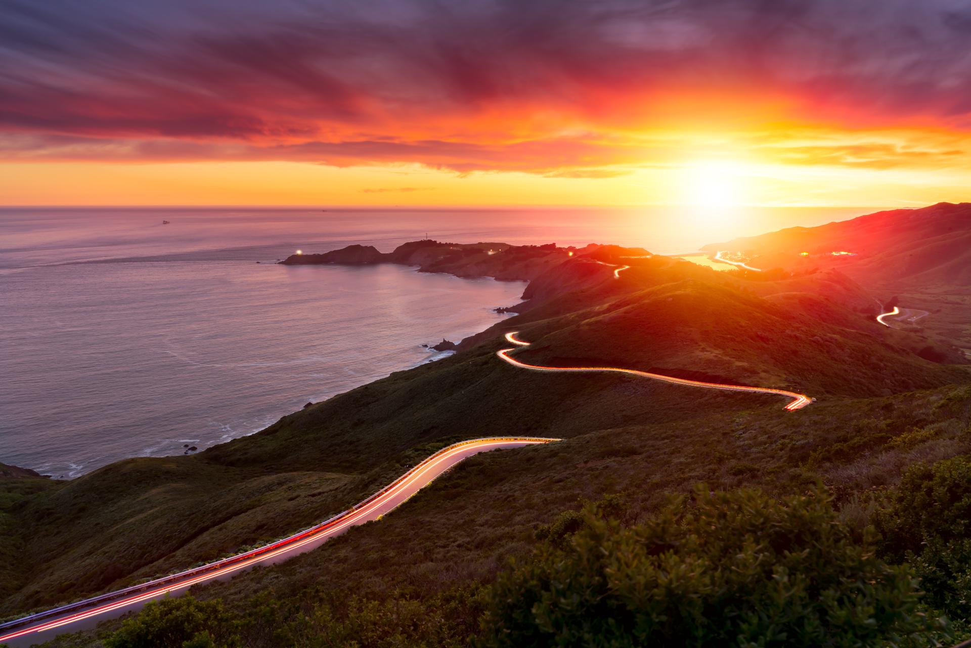 Marin Headlands, Sausalito, California