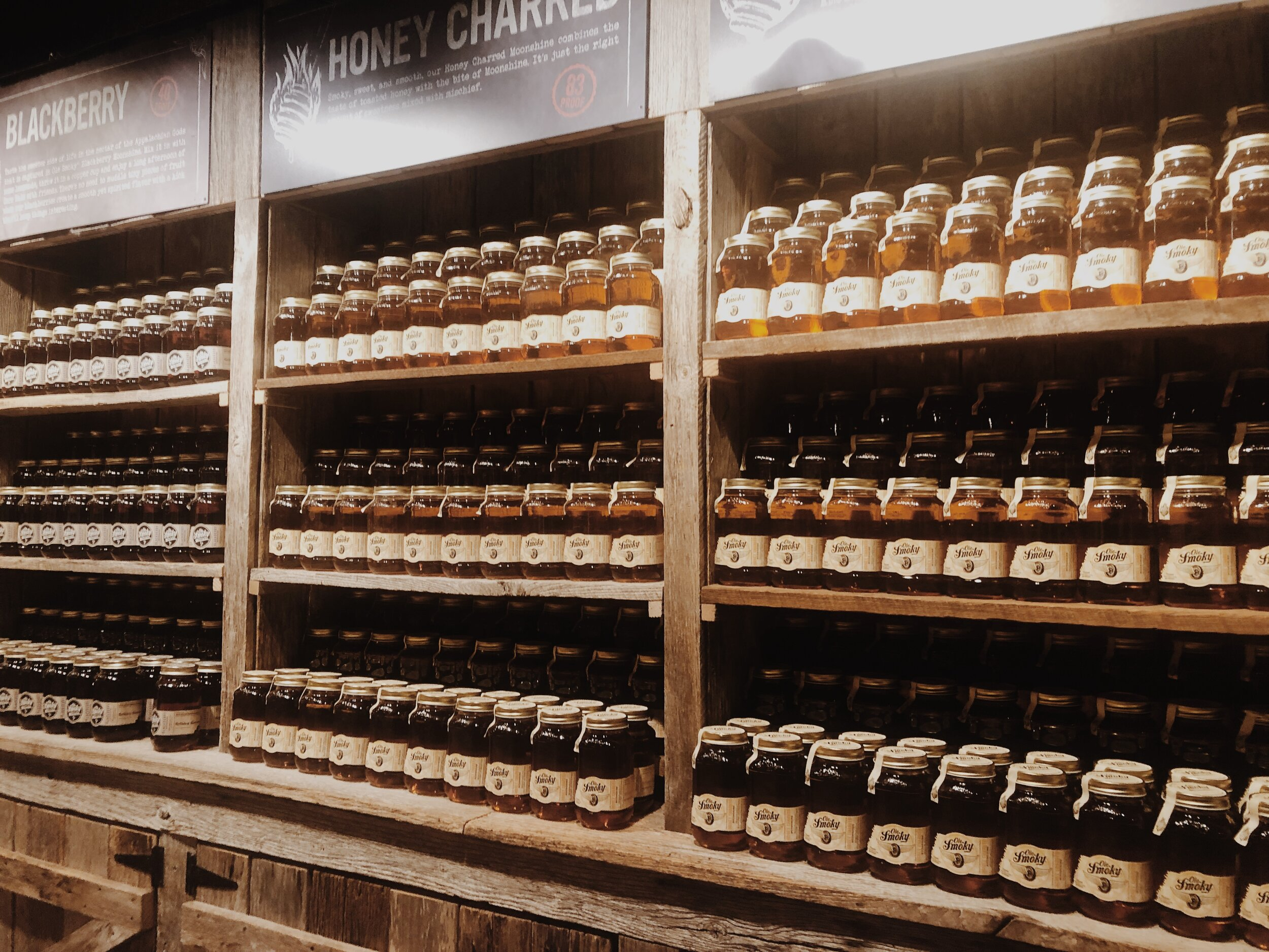 """Ole Smokey Tennessee Moonshine at  """"The Holler""""  in Gatlinburg, TN"""
