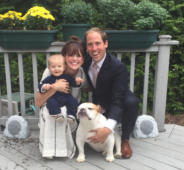 Maggie resides in Annapolis, Maryland with her husband, Justin, son, Teddy, and English Bulldog, Rosie.