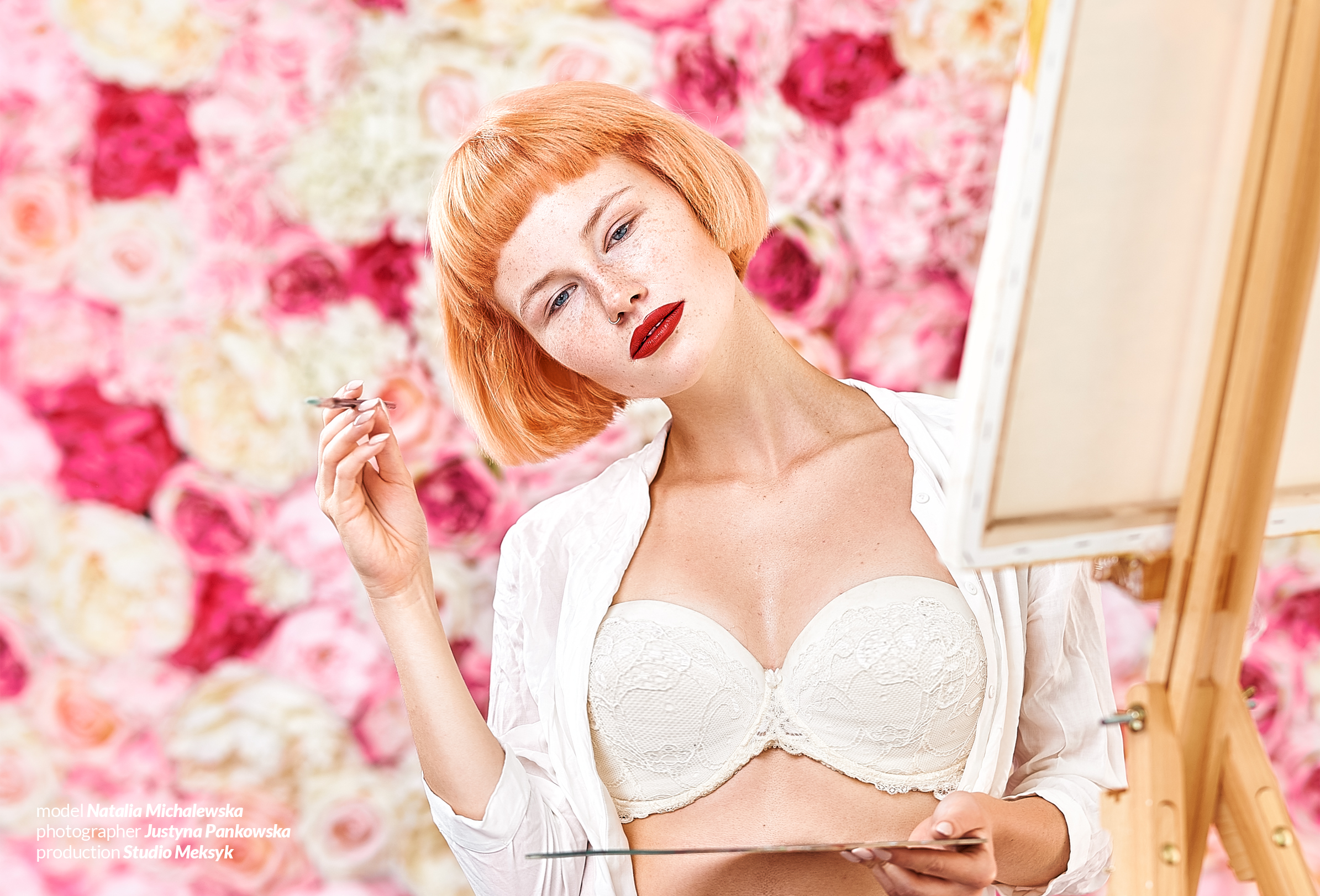 Natalia Michalewska, rose, glamour, warszawa, zdjęcia, beauty, girl, freckles, natural, portrait, pro, retouch, photography, D4s, nikkor 105 macro, Justyna Pankowska, Studio Meksyk,4a.jpg