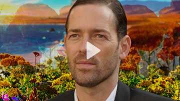 Episode 43  AMNESIAC, Kerouac + David Lynch with  Michael Polish  - Harper Simon's TALK SHOW