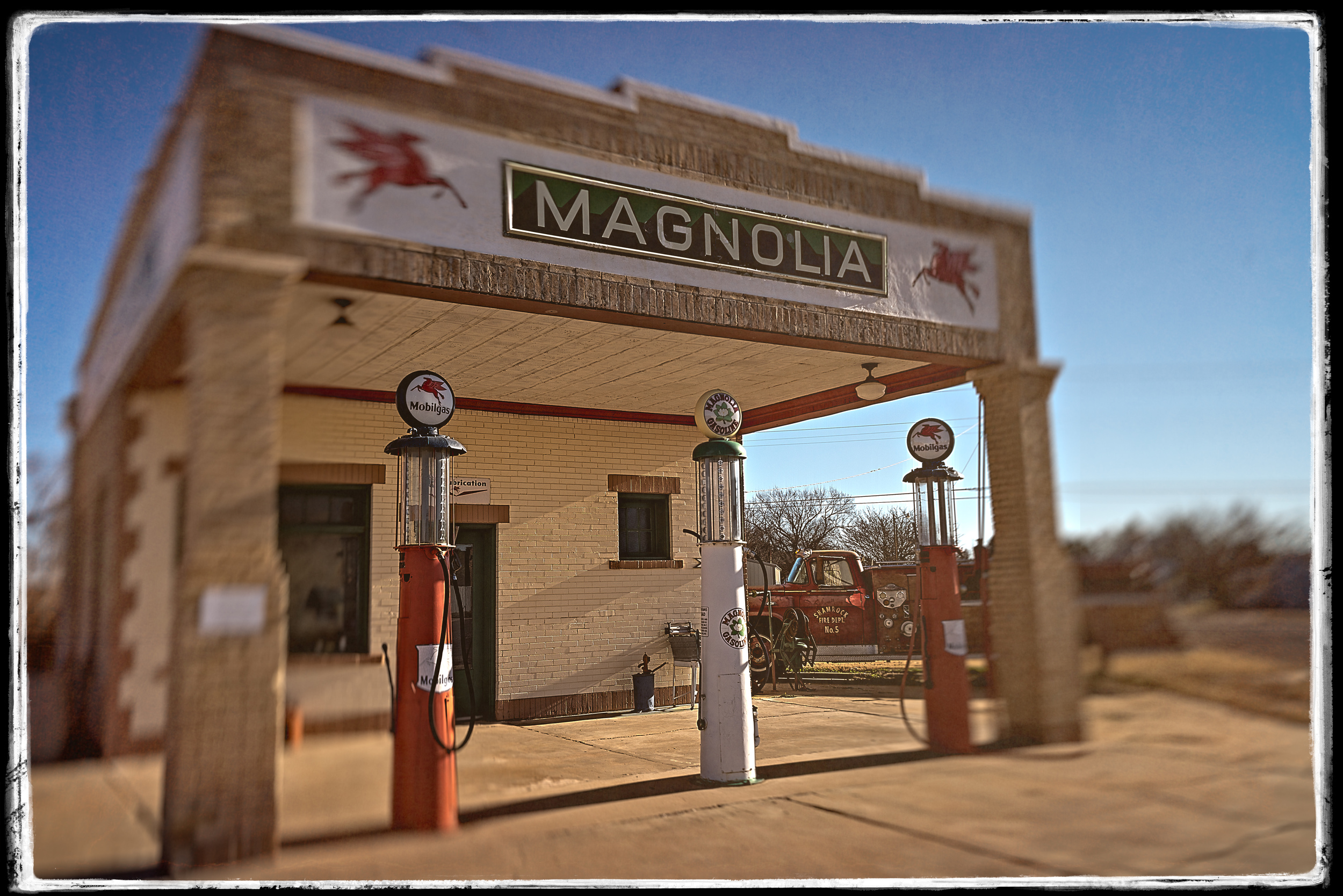 Magnolia Mobil Oil