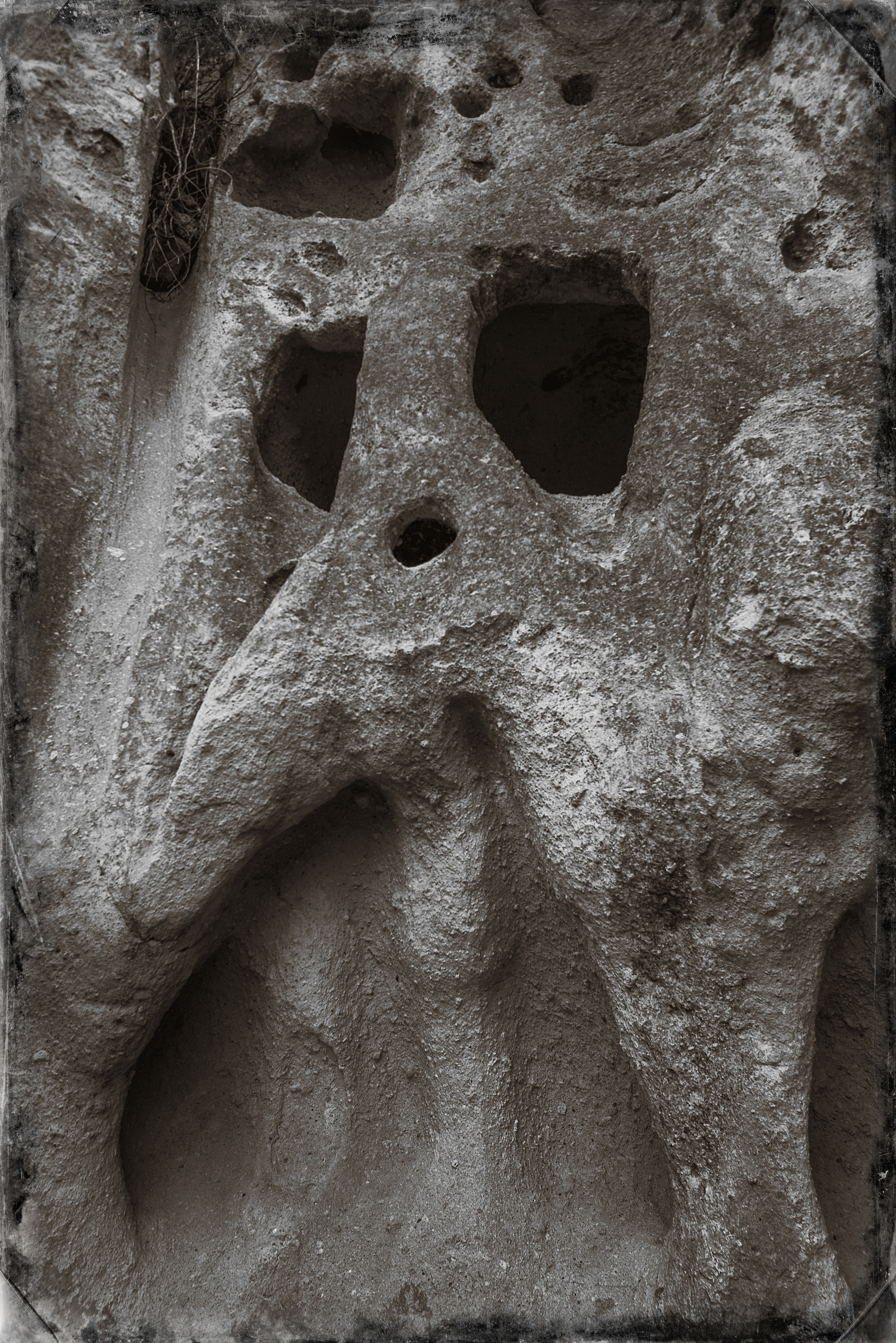 Bandelier Rock Formation