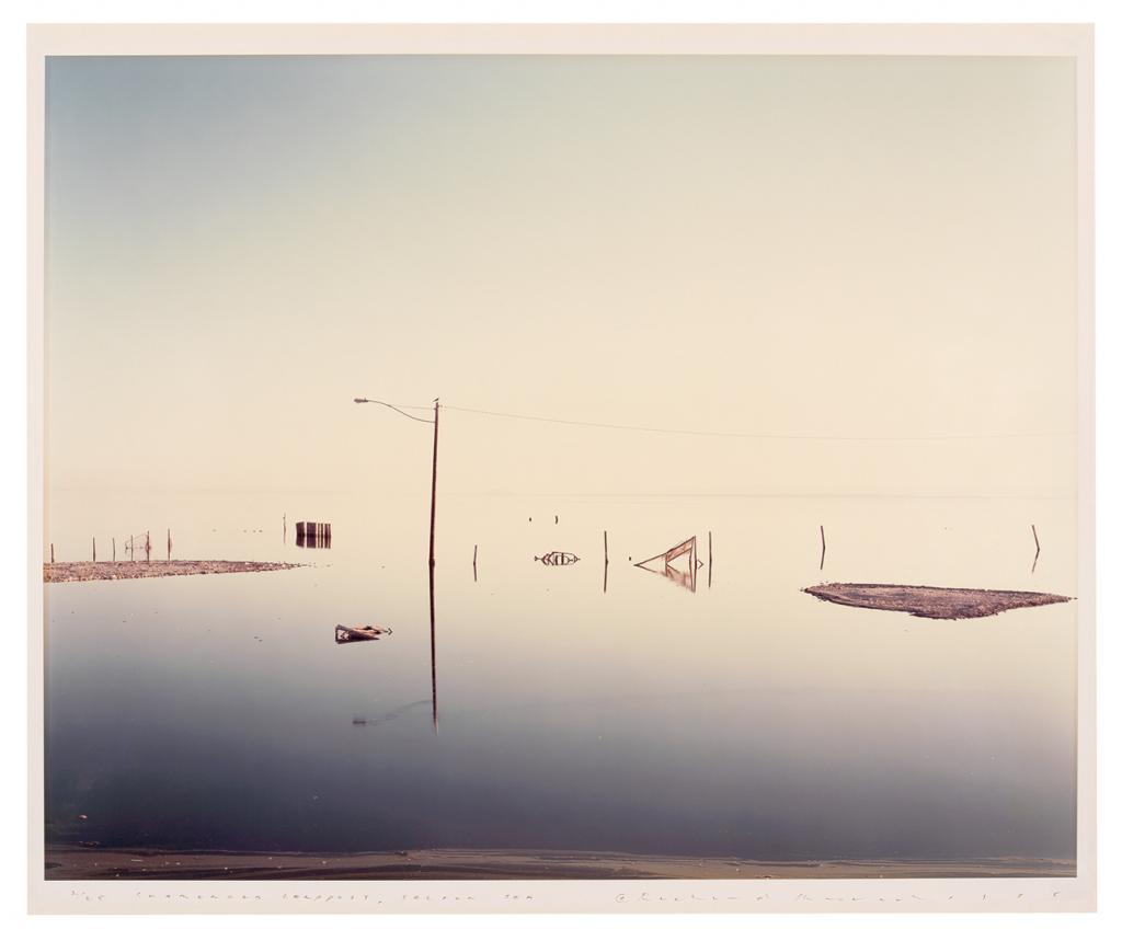 Misrach - Submerged Lamppost 1985