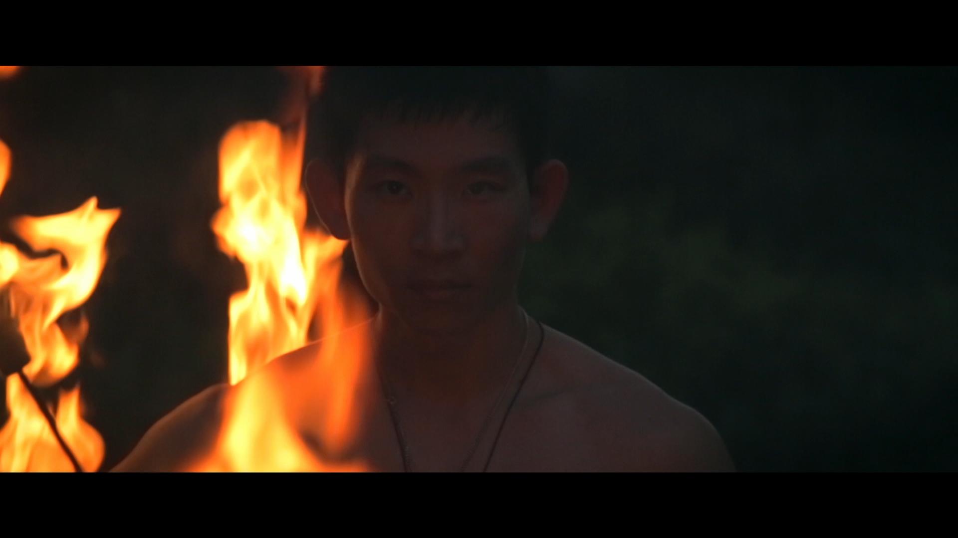 Fire Performer - Frank Li