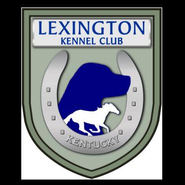 Lexington Kennel Club logo - Style: graphic, color