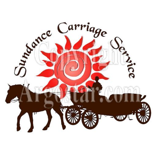 Sundance Carriage Service logo - Style: graphic, color