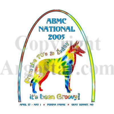 American Belgian Malinois 2005 National Specialty Logo