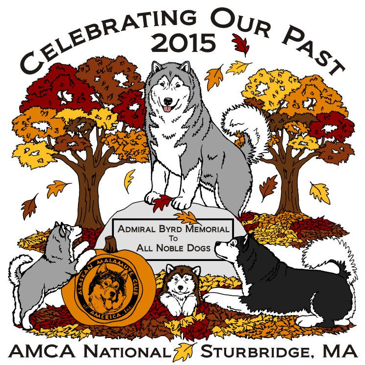 Alaskan Malamute Club of America 2015 National Specialty Logo