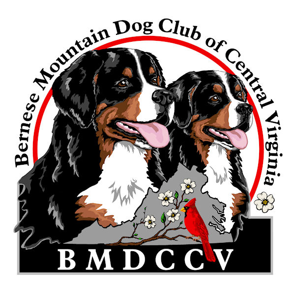 Bernese Mountain Dog Club of Central Virginia Logo