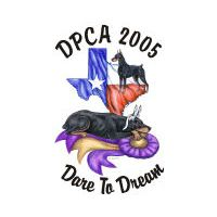 Doberman Pinscher Club of America 2005 National Specialty Show Logo