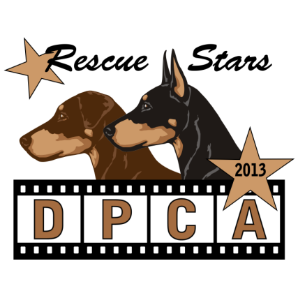 Doberman Pinscher Club of America Rescue Logo