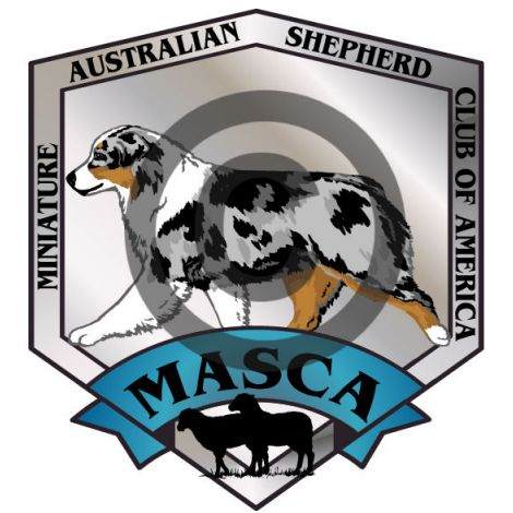 Miniature Australian Shepherd Club of America Logo