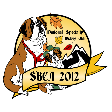 Saint Bernard Club of America 2012 National Specialty Logo
