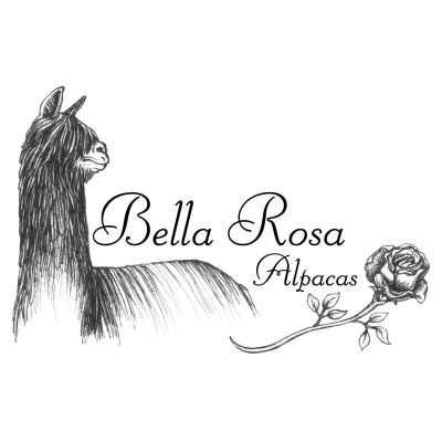 Bella Rose Alpacas Logo