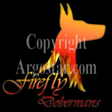 Firefly Dobermans Logo