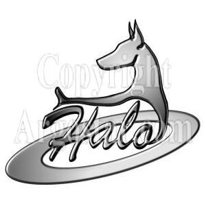 Halo Dobermans Logo