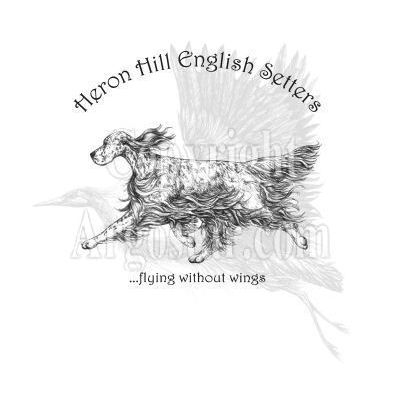 Heron Hill English Setters Logo