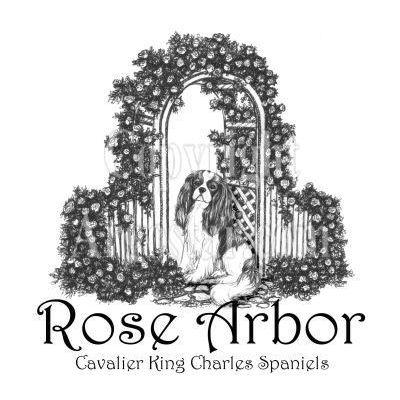 Rose Arbor Cavalier King Charles Spaniels Logo