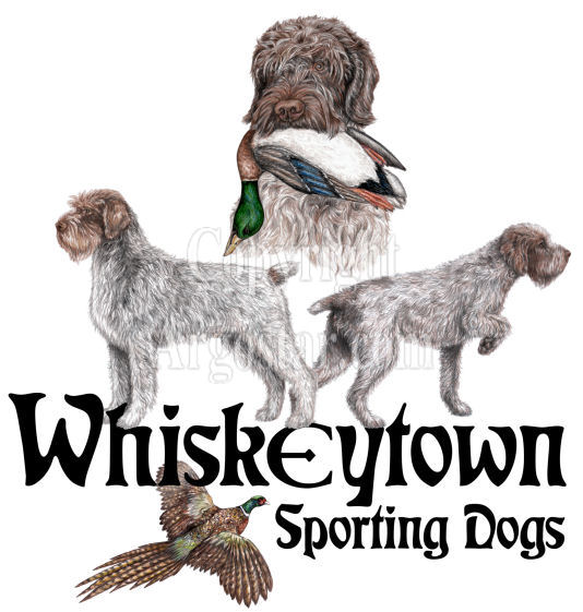 Whiskeytown Sporting Dogs Logo