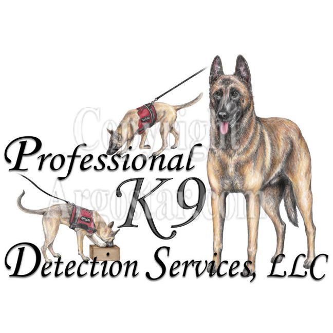 Professional K9 Detection Services Logo