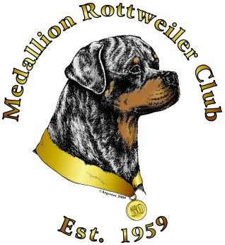 Medallion Rottweiler Club Logo