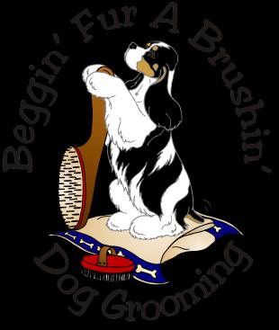 beggin-fur-a-brushin-logo