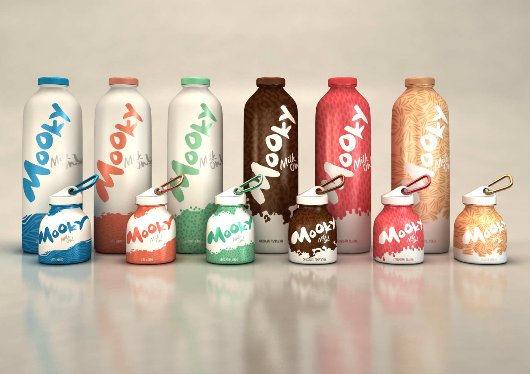 Mooky packaging continente