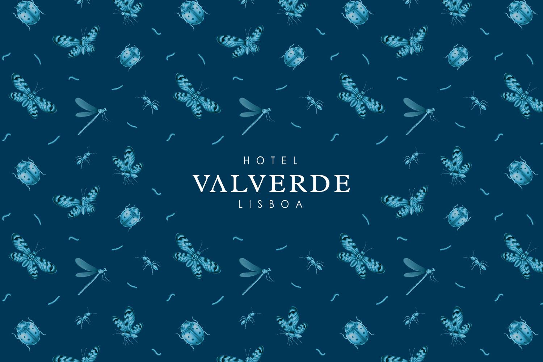 Branding Logotype Valverde Hotel Lisbon Lisboa