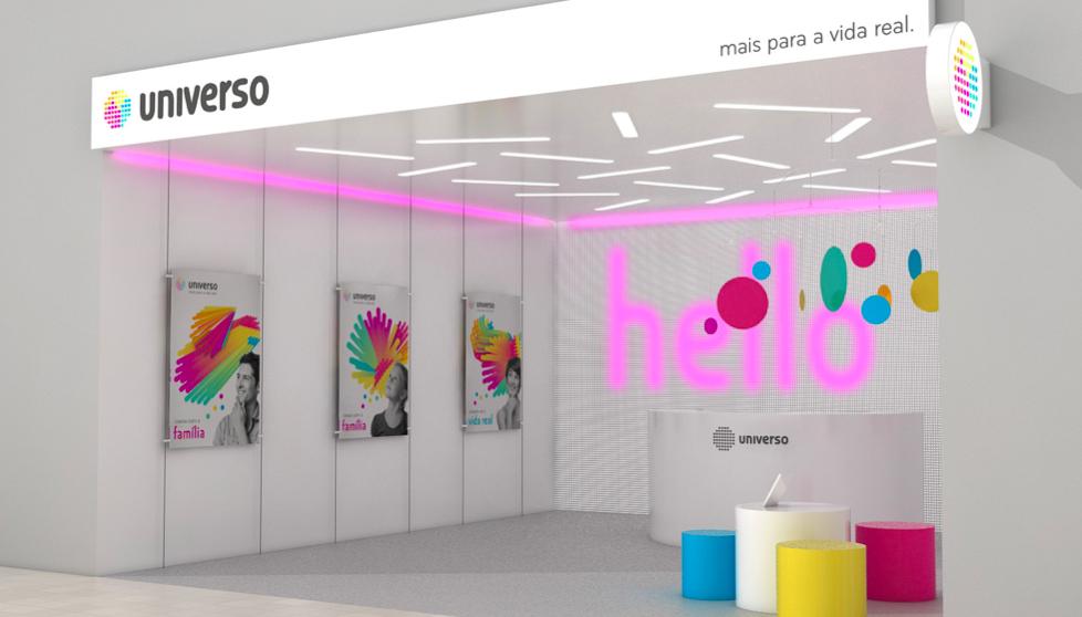 Branding Universo store loja