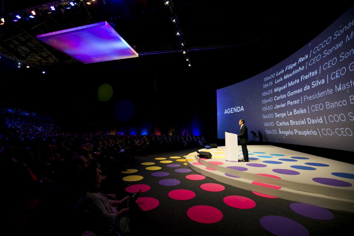 Branding Universo launch Altice Arena