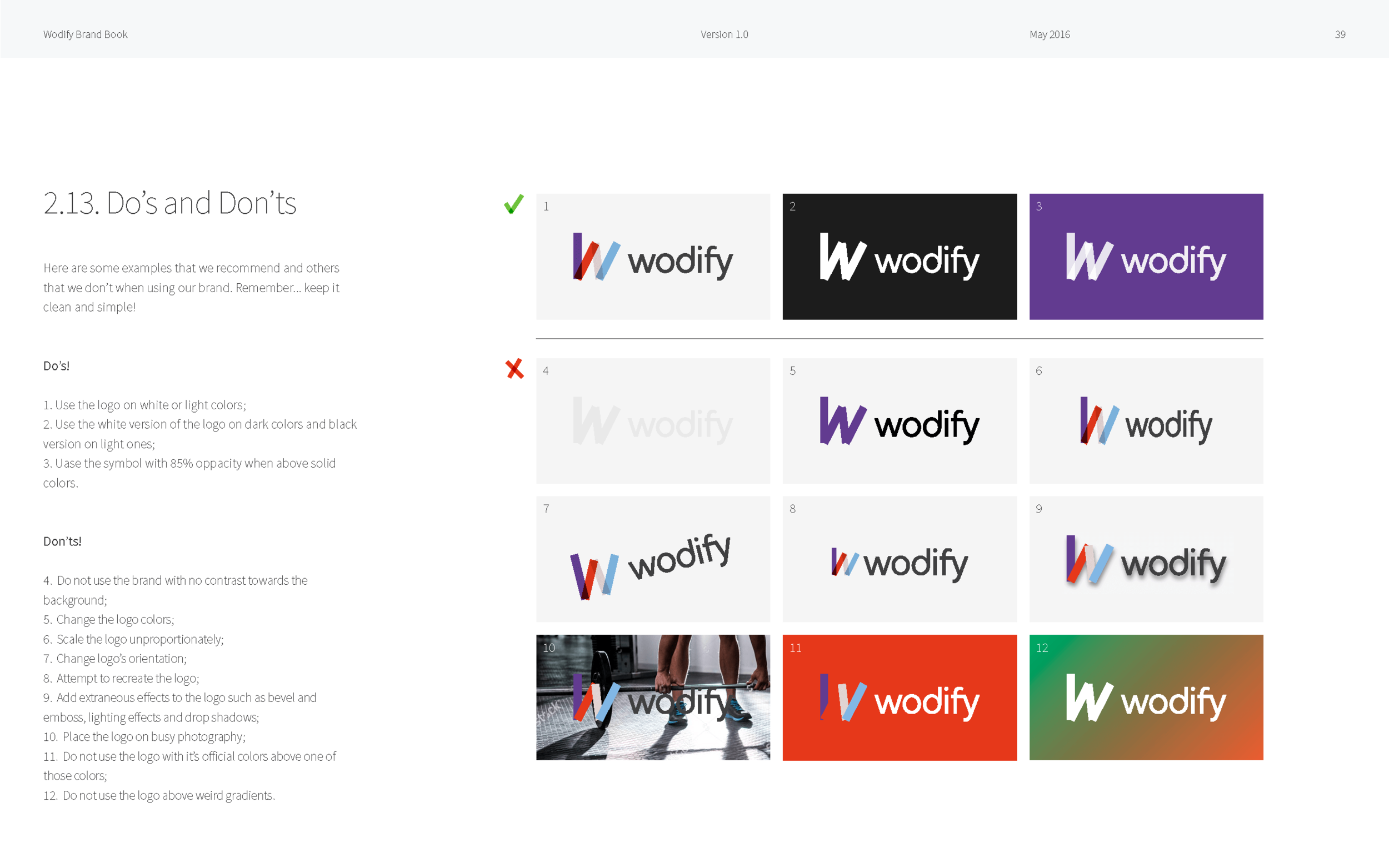 Wodify Brand book