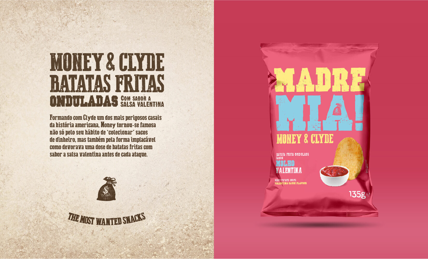 Madre Mia! packaging chips strategy